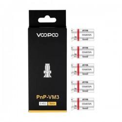 Résistances VOOPOO Mesh PnP VM3 0.45Ω pour Vinci Pod (5pcs)