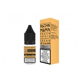 10x CHARLIE'S CHALK DUST PEACH PAPYA COCONUT CREAM 10ML