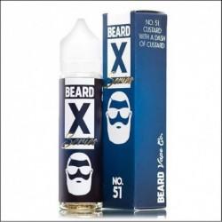 2x BEARD VAPE X-SERIES NO 51 50ML