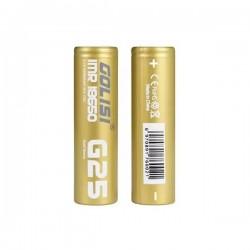 6x Accus G25 18650 2500mAh 20A