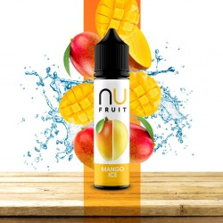 3x NU FRUIT Mango Ice 50ML