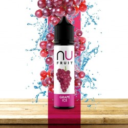 3x NU FRUIT Grape Ice 50ML