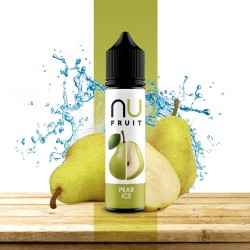 3x NU FRUIT Pear Ice 50ML