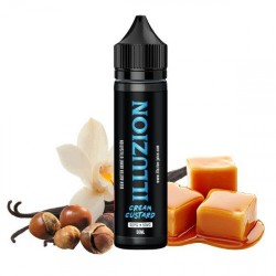 2x ILLUZION Cream Custard 50ML
