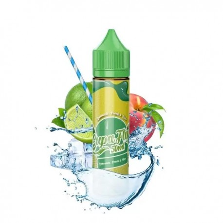 Lemonade Peach 0mg 50ml - Supafly