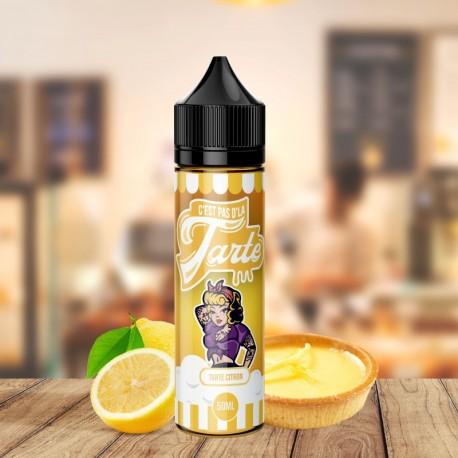 Tarte Citron 0mg 50ml - C'est Pas D'la Tarte