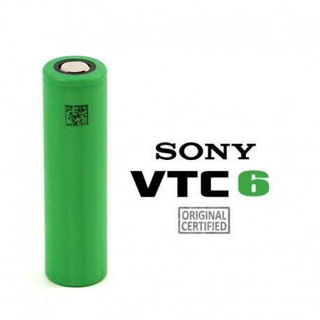 2x Accu VTC6 18650 3000mAh 3.7V