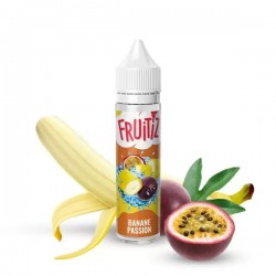 2x FRUITIZ Banane Passion 50ML