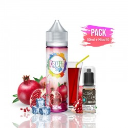 2x PACK GRENADINE 50ML + Nico 10ML