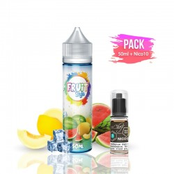 2x PACK WATER BOMB 50ML + Nico 10ML