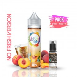 2x PACK ICE T PÊCHE NO FRESH 50ML + Nico 10ML