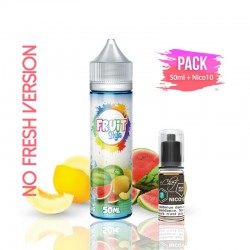 2x PACK WATER BOMB NO FRESH 50ML + Nico 10ML