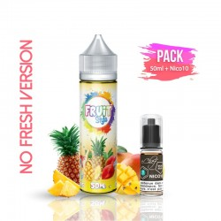 2x PACK TROPICAL NO FRESH 50ML + Nico 10ML