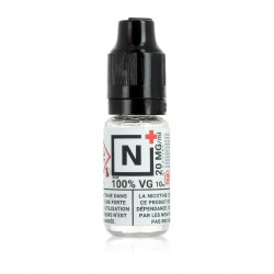 10x Booster de nicotine N+ 10ML 20mg 100VG